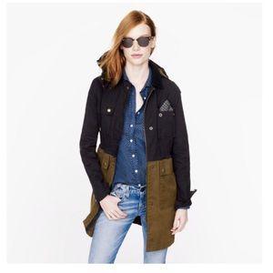 JCrew colorblock field jacket